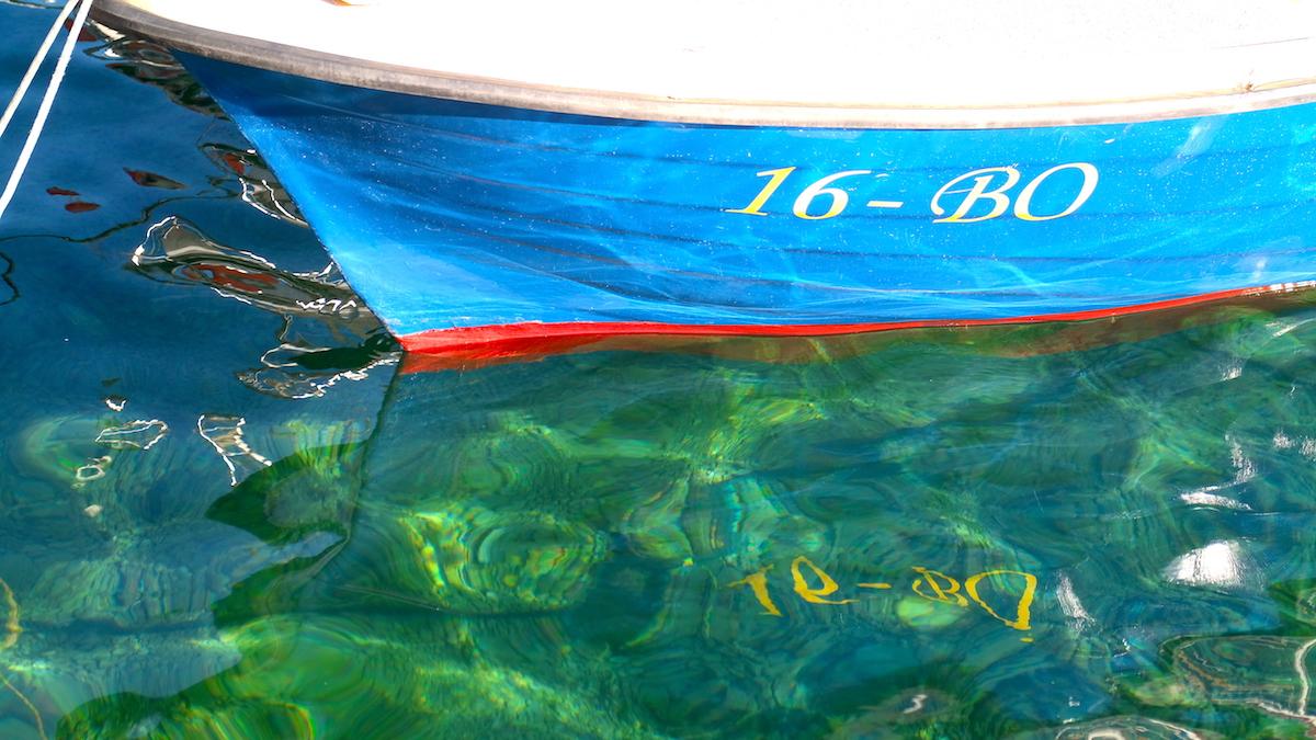 Det superklara vattnet i Kroatien