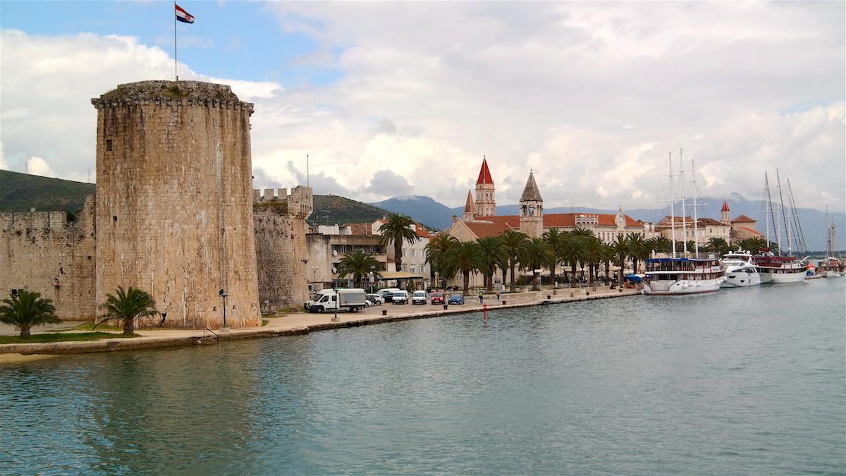 Medeltidsstaden Trogir Kroatien