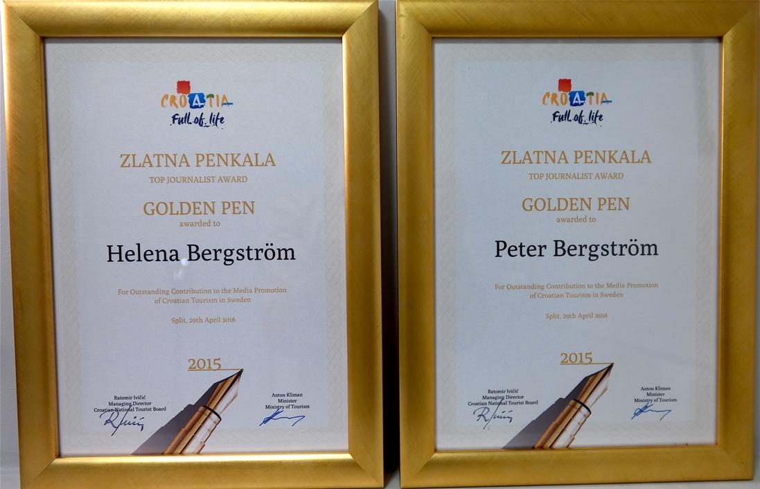 Golden Pen Award 2016