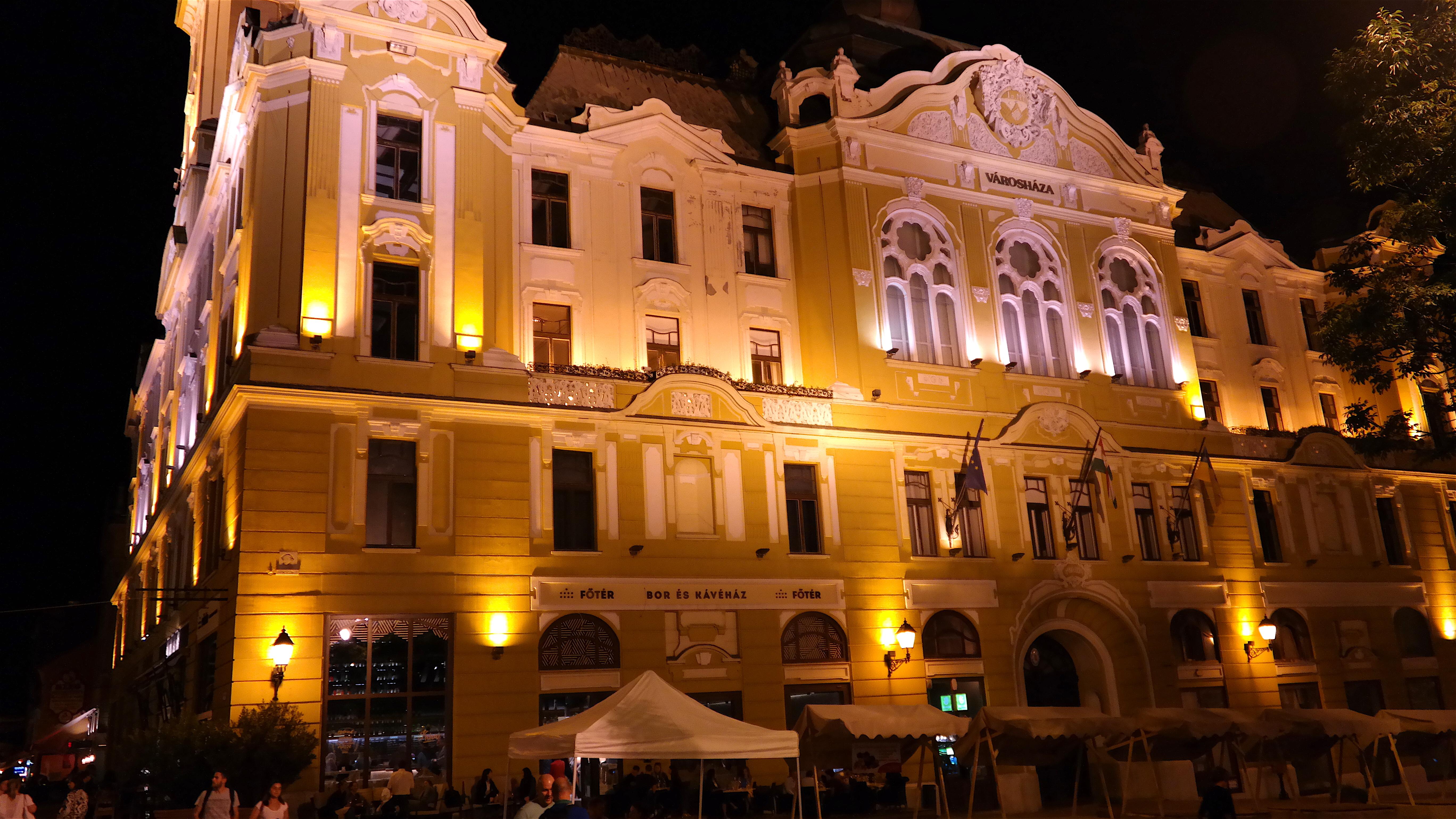 Ungern, Pecs