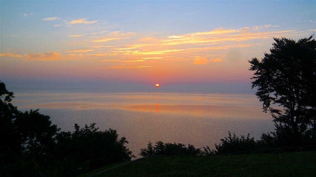 Soluppgång i Polen