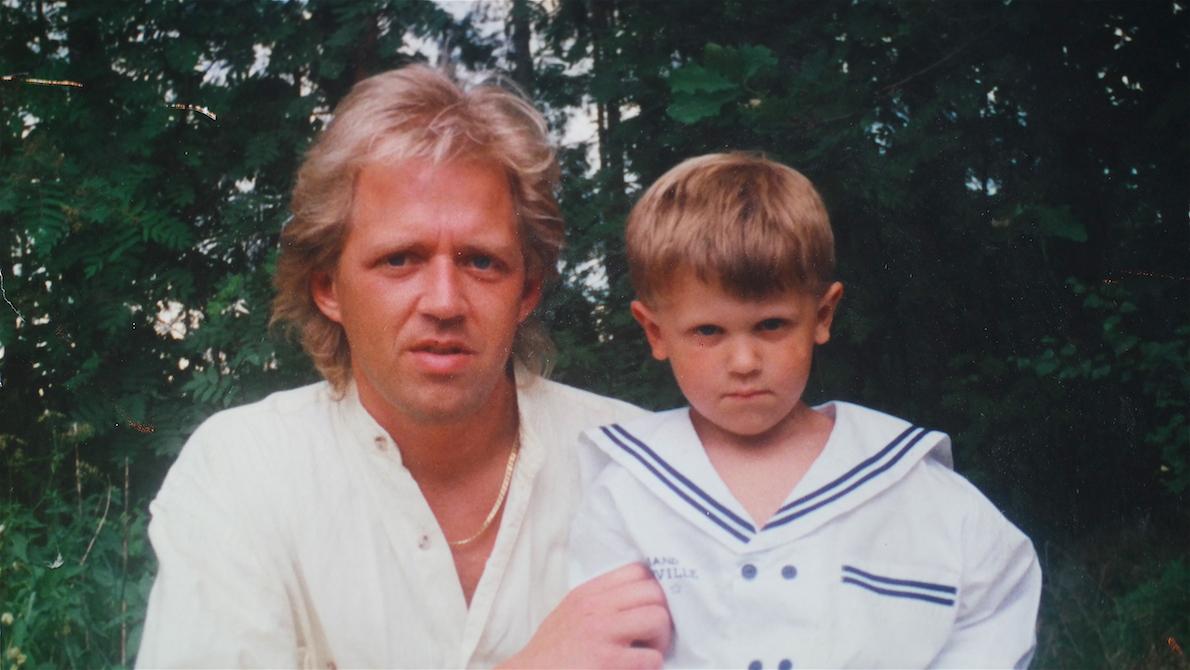 Jag och min son Robin