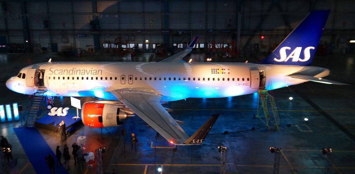 SAS Airbus A320 Neo