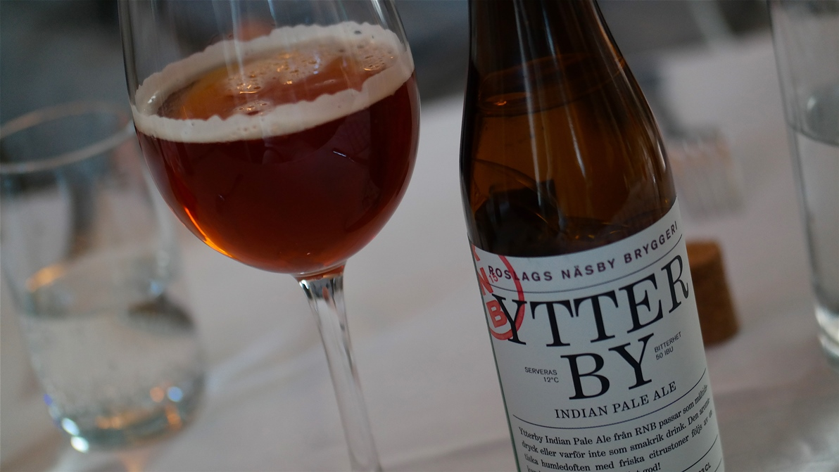 Ytterby Indian Pale Ale från Roslags Näsby bryggeri