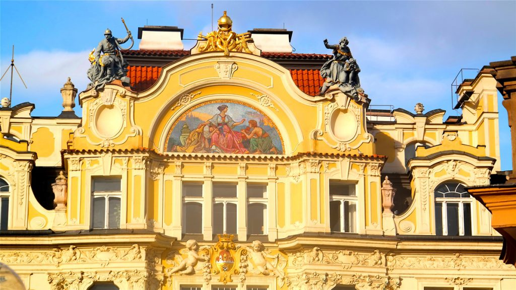 "Ett ""vanligt"" hus i Prag"