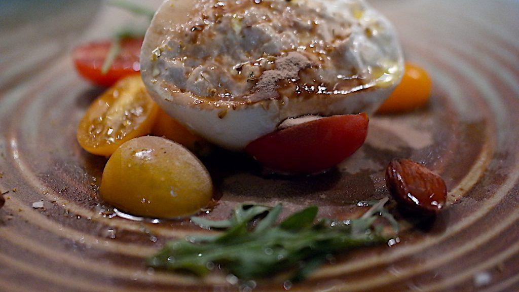 Mozzarella på Restaurang Palett
