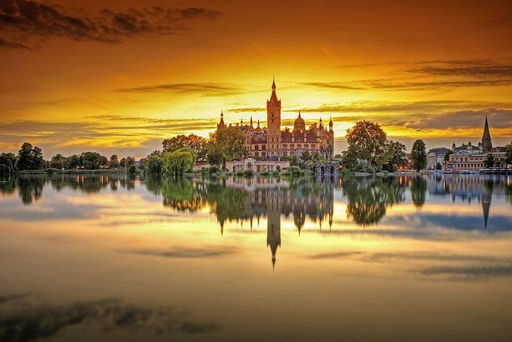 Slottshöst i Mecklenburg-Vorpommern