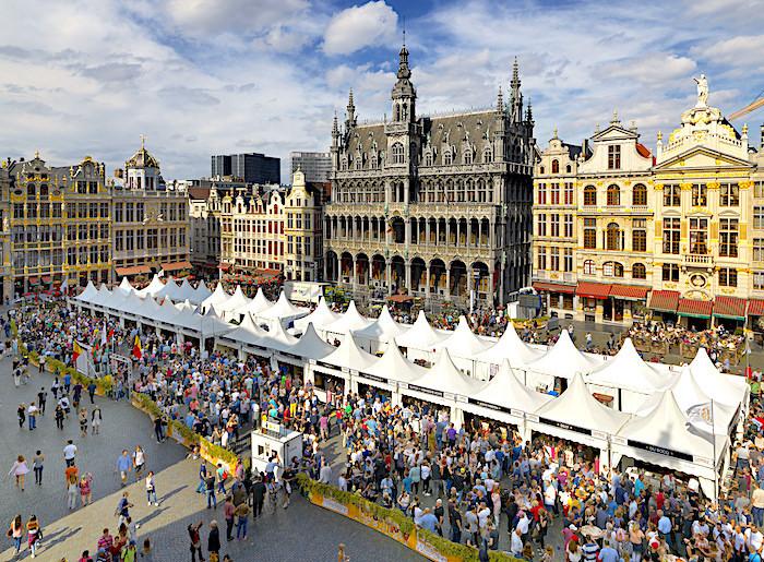 Resa till Belgien