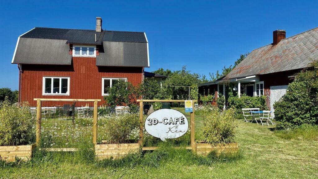 2D café Mellböda gård
