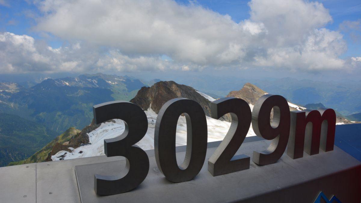 3029 meter upp i Österrike