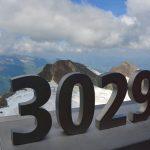Till toppen av Kitzsteinhorn i Österrike