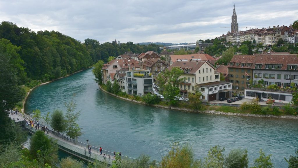Aare river