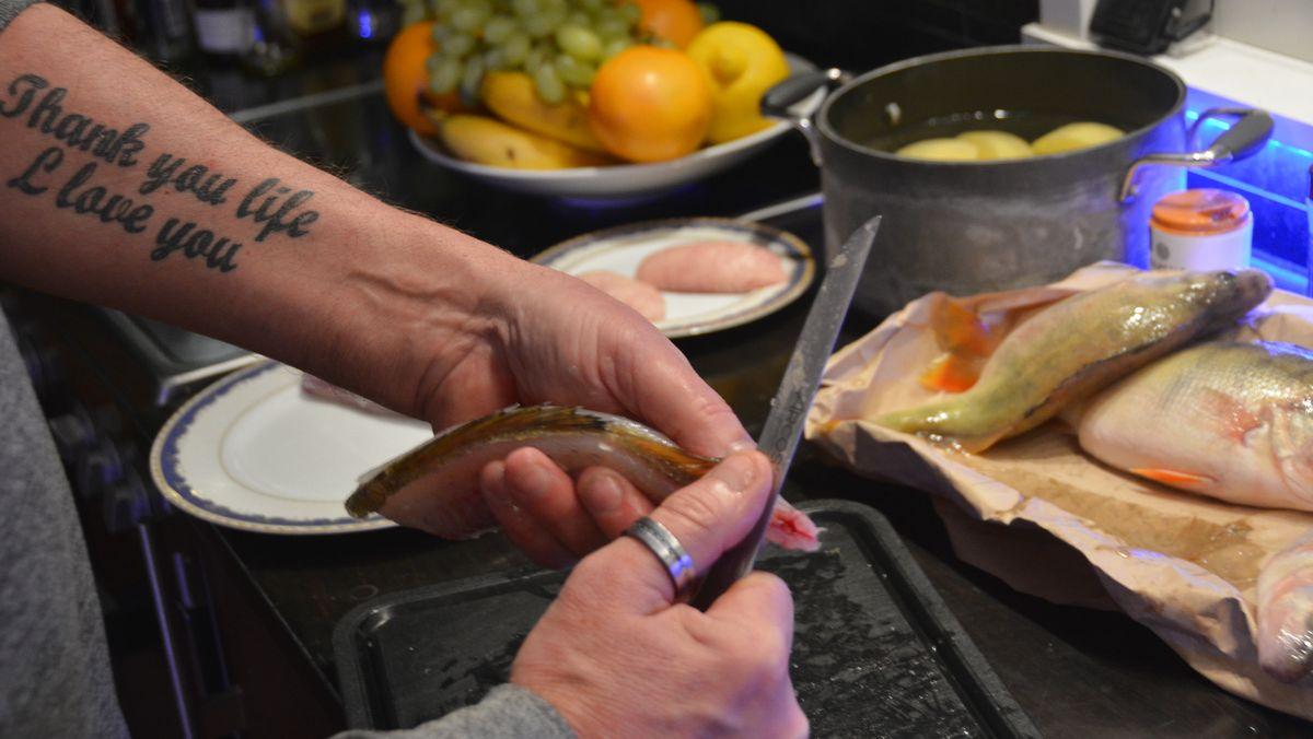 Abborre fiskkniv