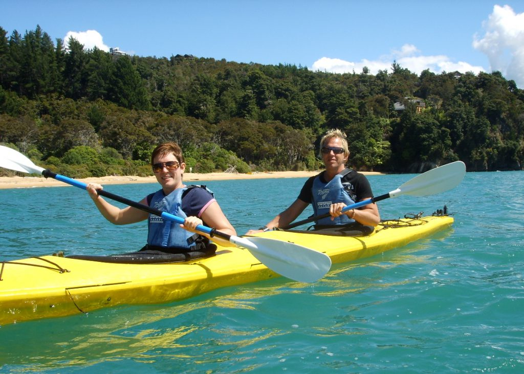 Kanot i Abel Tasman, Nya Zeeland