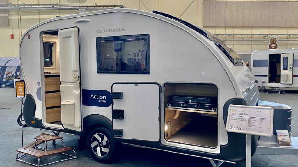 Husvagnar 2021 från Adria - Action