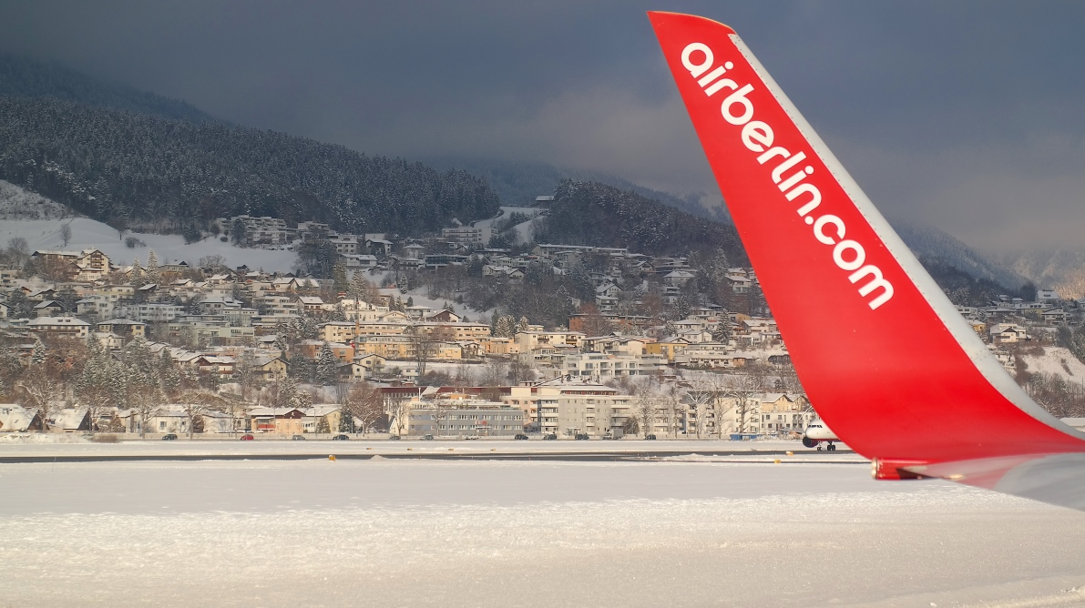 Air Berlin på Innsbrucks flygplats