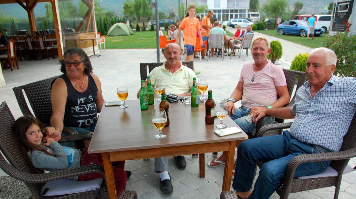 Med lokala guider i Struga