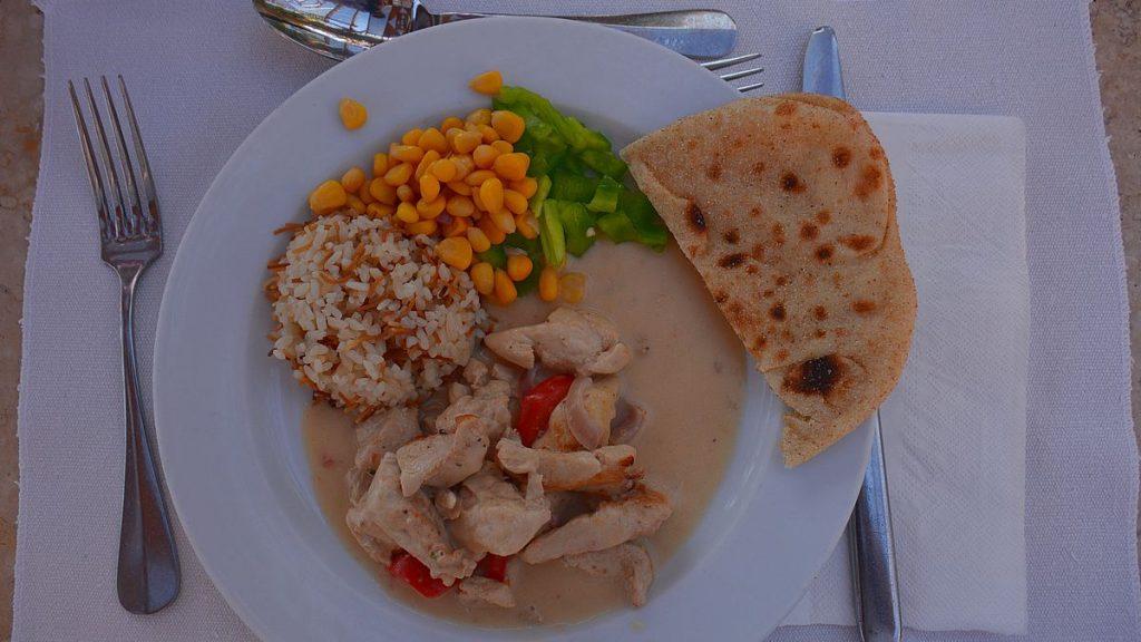 Middag på Sultan Bay hotell i El Gouna