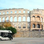 Amfiteatern i Pula – Arena för gladiatorer