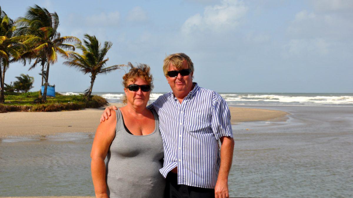Ann-Sofie och Jonas på Trinidad