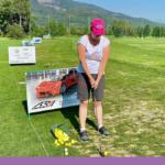 Golf i Tjeckien – och camping vid sjön Olesna