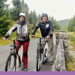 Berget Praděd i Tjeckien – nerför berget på scooter