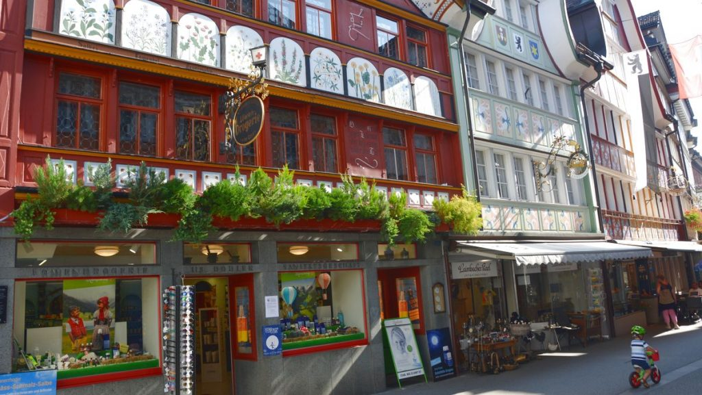 Appenzell hus