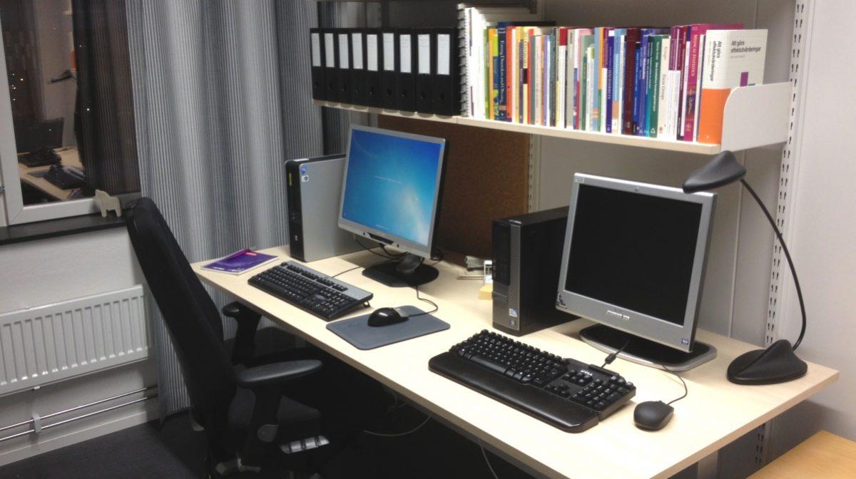 Halvtid - mitt arbetsrum