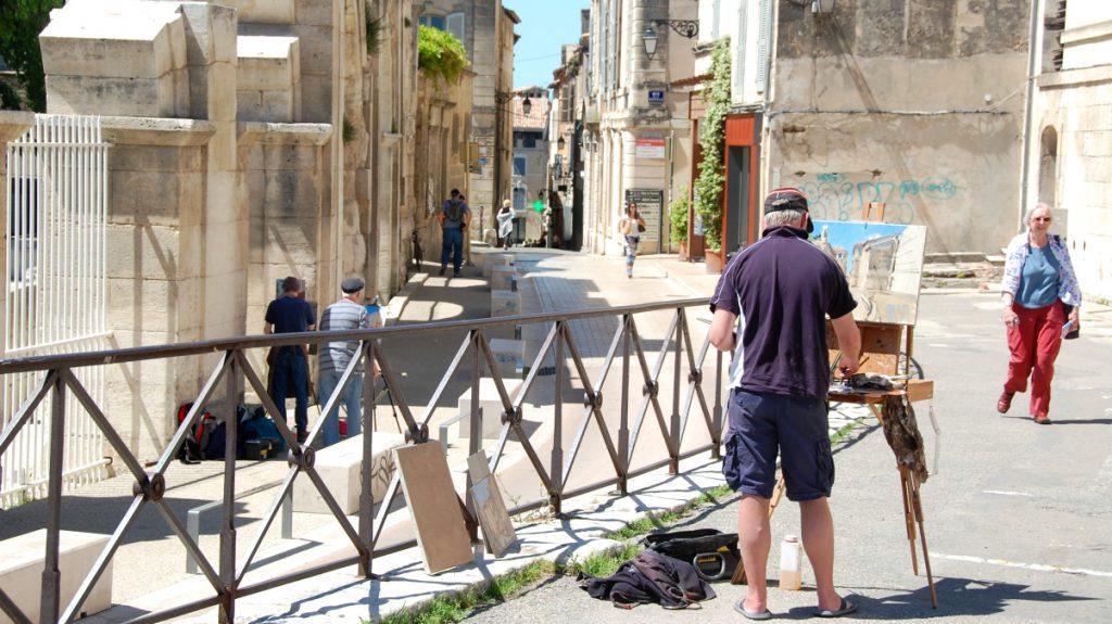 Amfiteatern i Frankrike, Arles - Provence