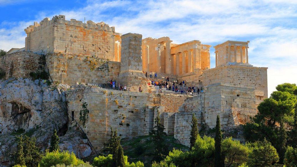 Aten, en av Europas största städer