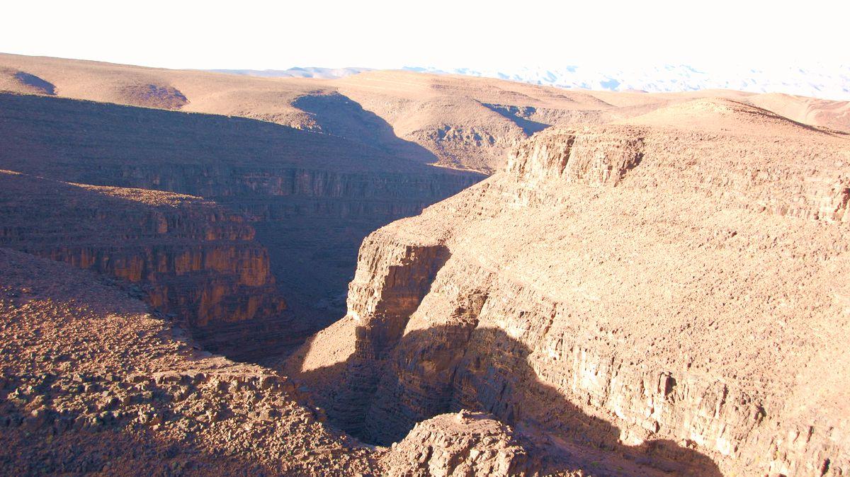 Atlasbergen Marocko