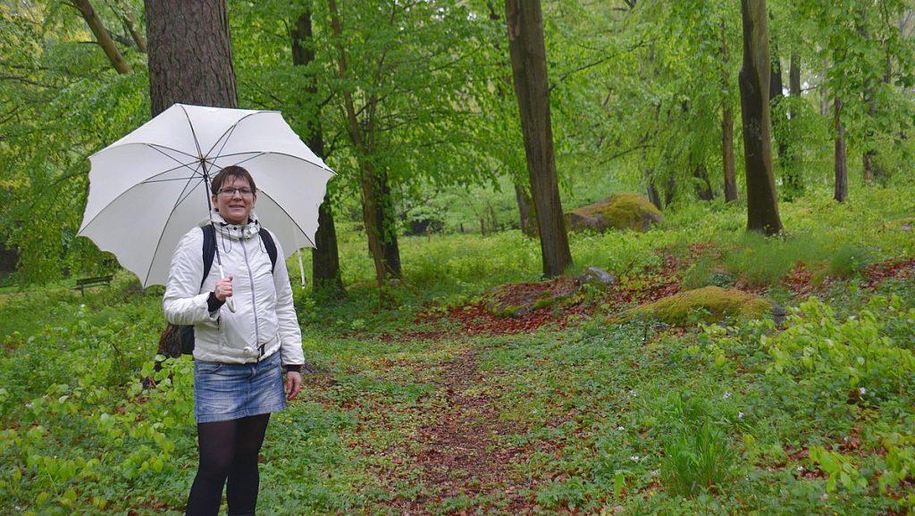 Helena i Bäckaskogs park vid Bäckaskog slott
