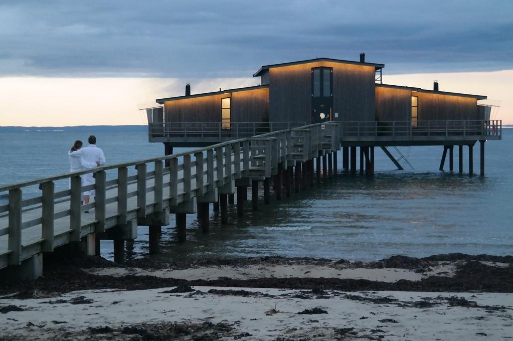 Stranden i Båstad i november