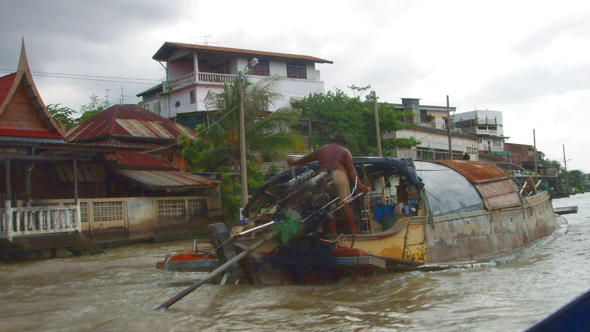 Båt Bangkok