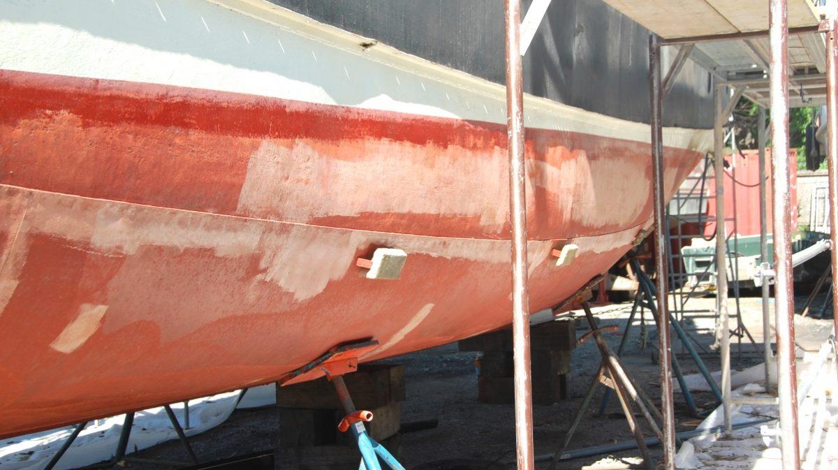Båt stålskrov