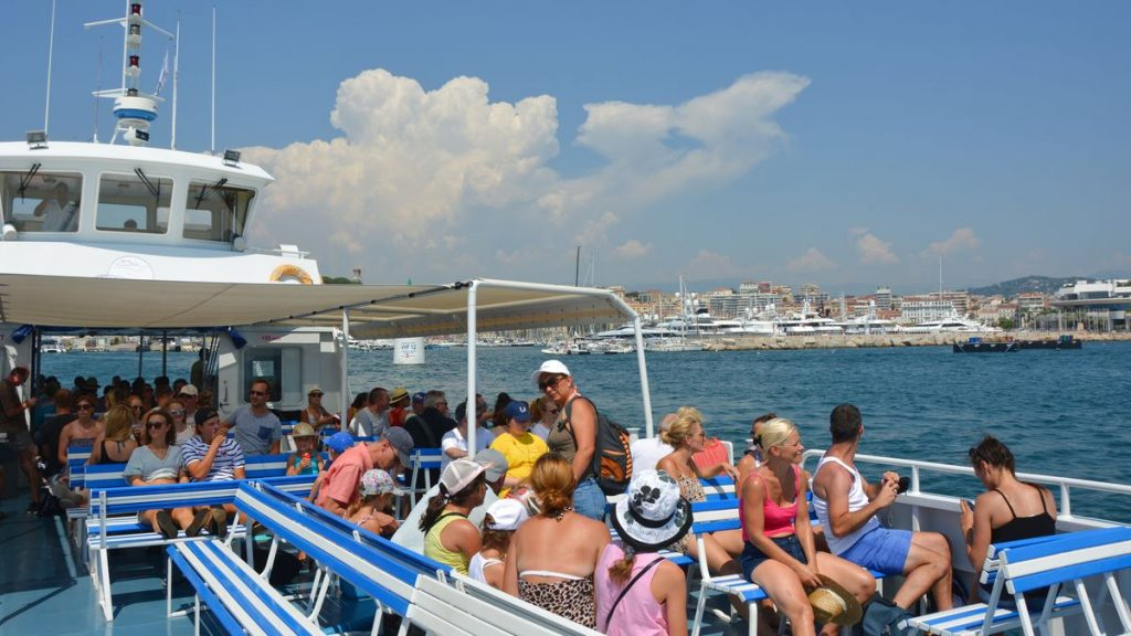 Båttur till Sainte-Marguerite