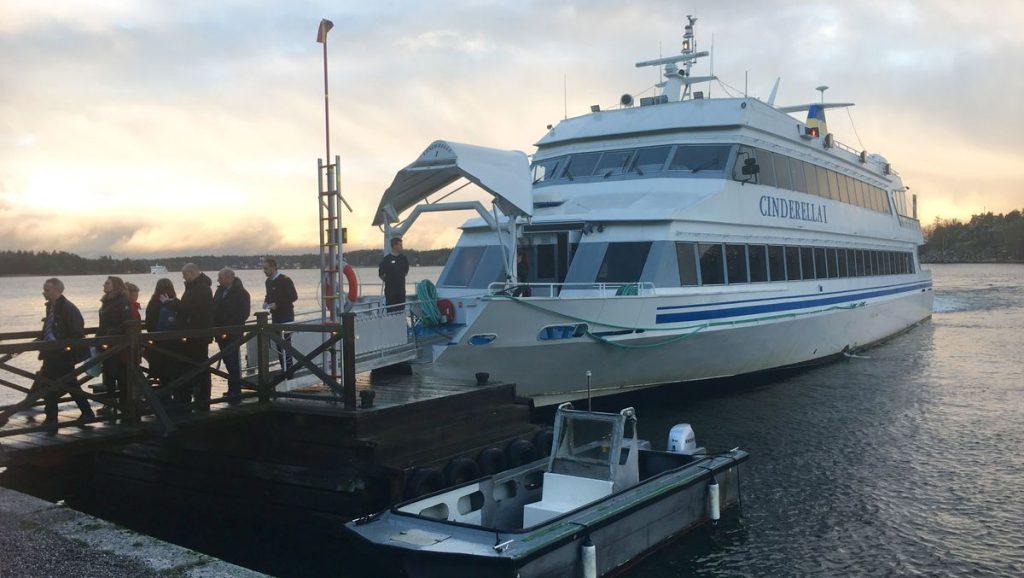 Båt till Vaxholm