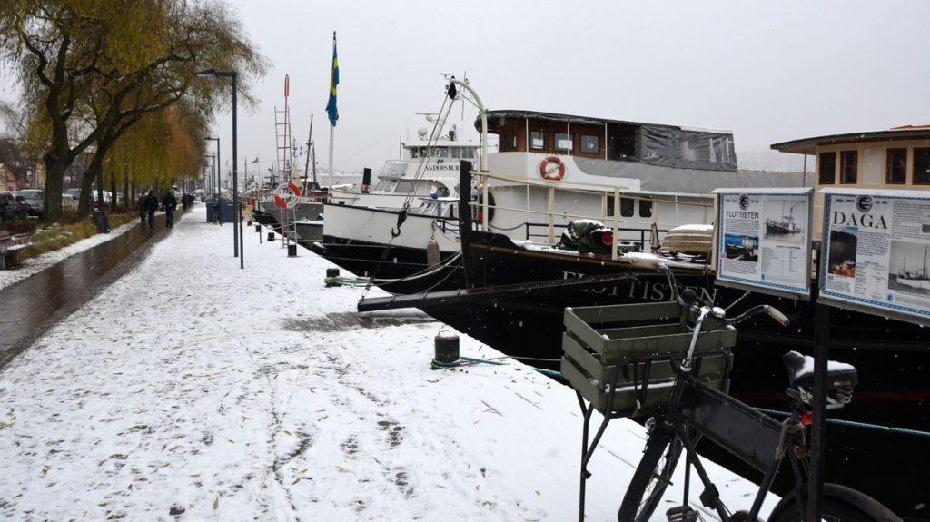 Skeppen vid Norr Mälarstrand