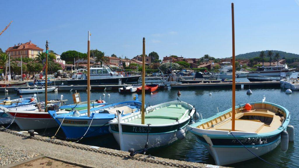 Båtar Porquerolles