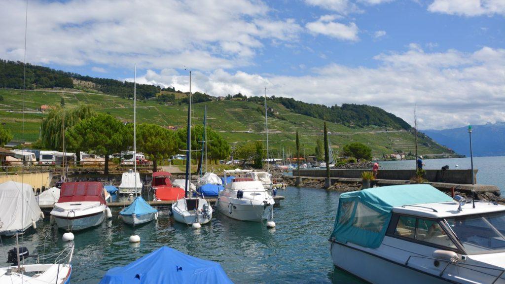 Båtar Schweiz