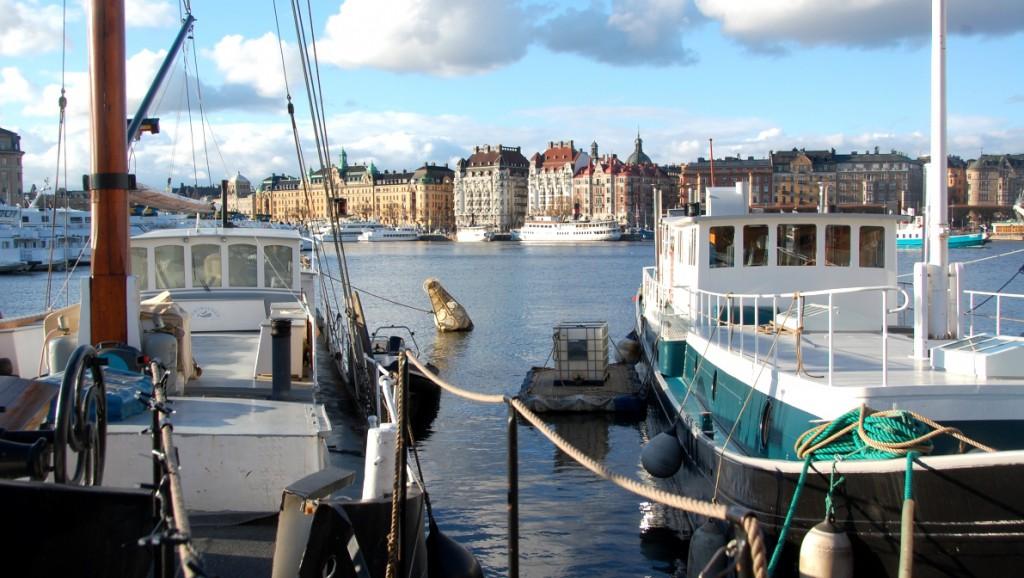 Båtar Skeppsholmen