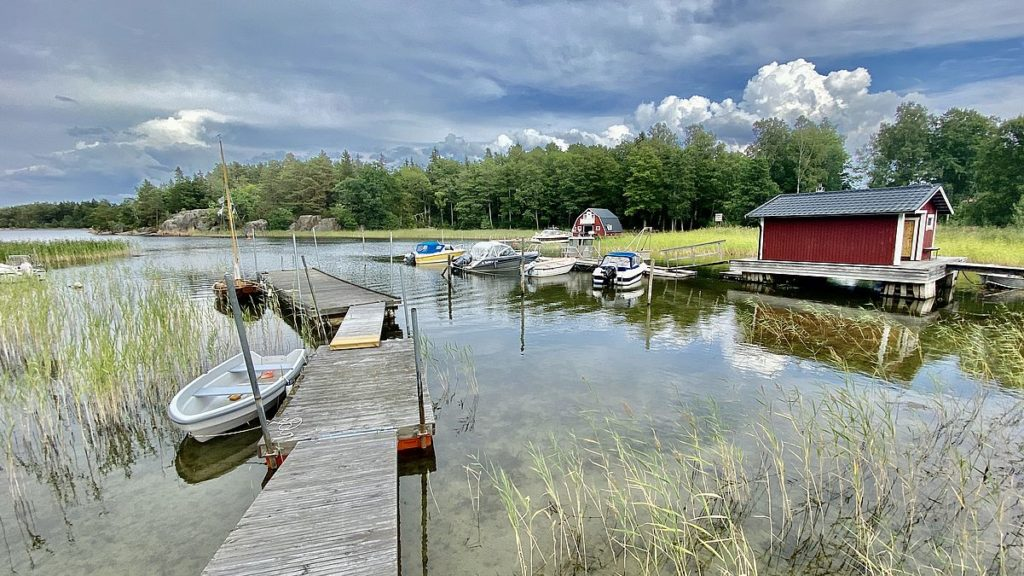 Båthus i Grisslehamn
