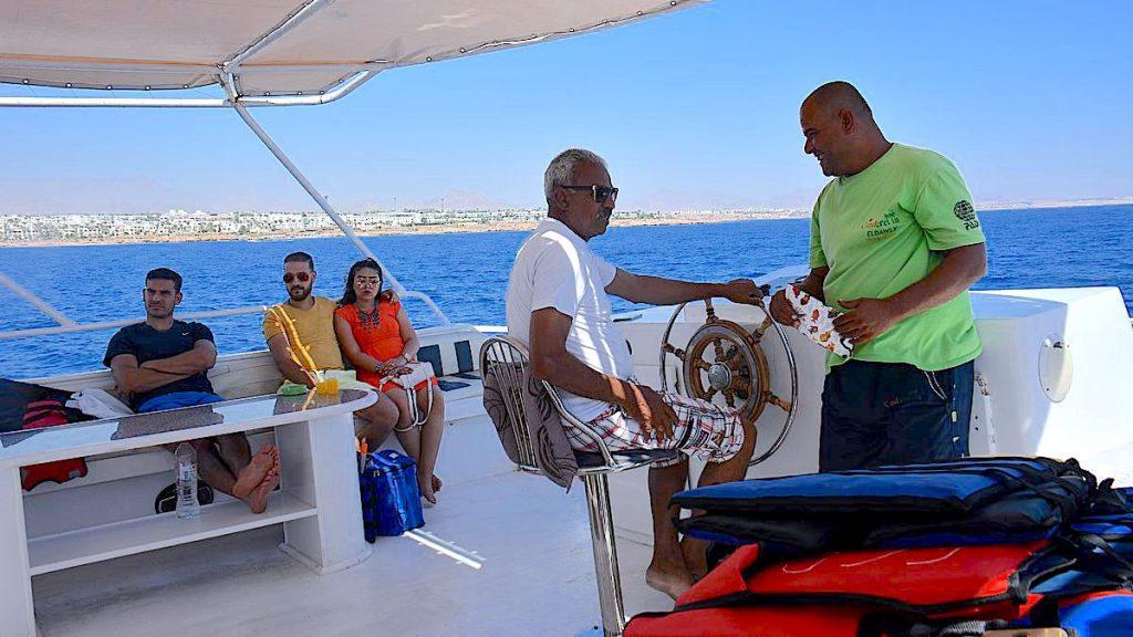 Båttur i Sharm el Sheikh