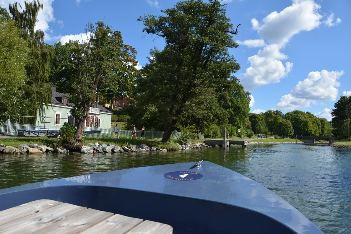 Båttur Stockholm