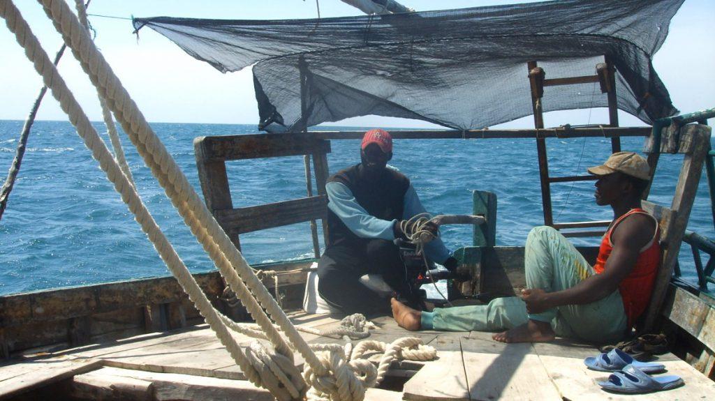 Båttur Tanzania