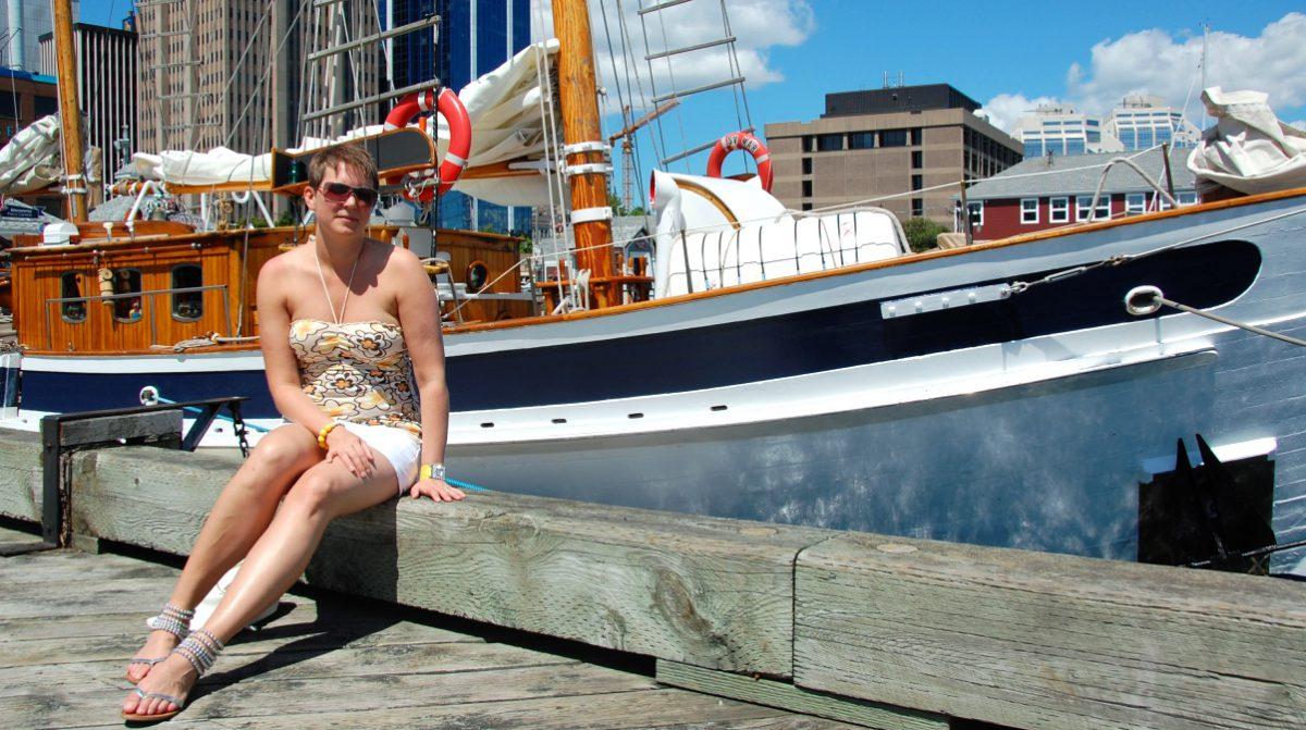Båttur i Halifax