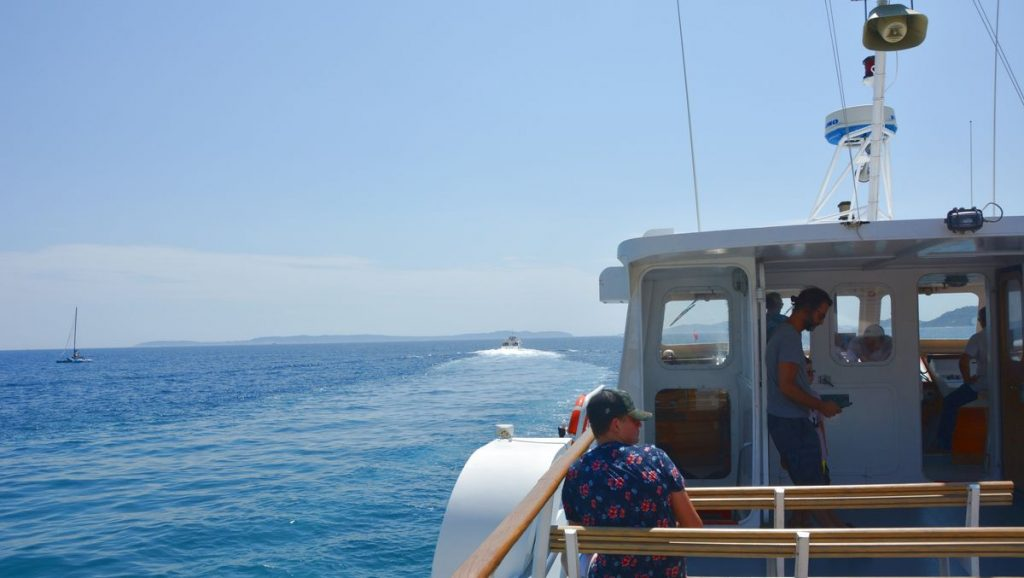 Båttur till Levant