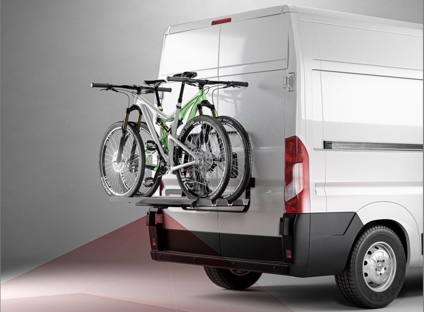 Cykelställsmonterad backkamera Dometic