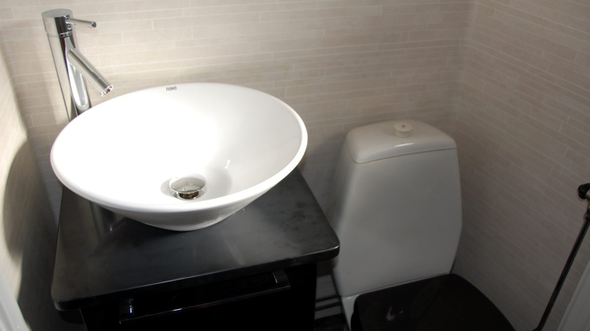 Nytt i badrummet