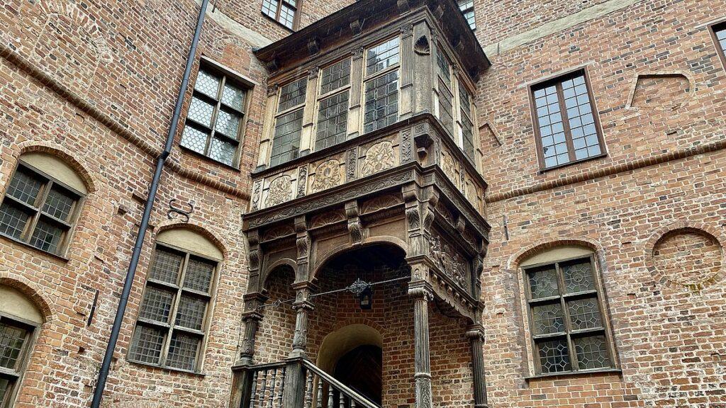 Gripsholms slott - innergård